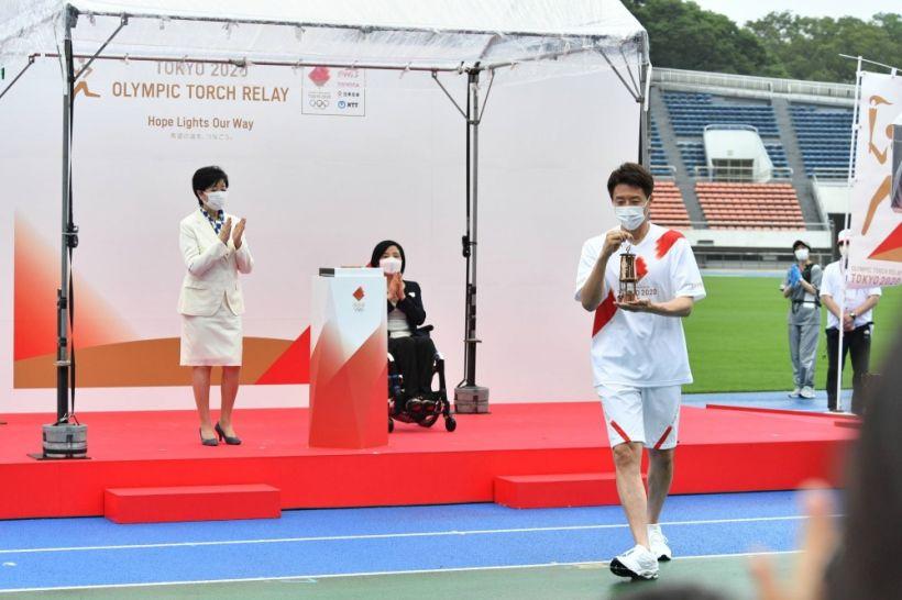 Olimpiya Oyunlarının məşəli Tokioya gətirilib