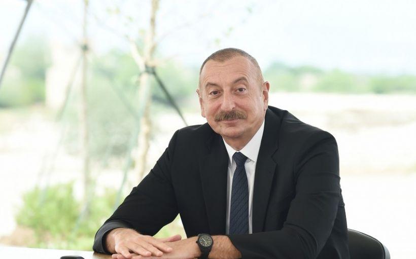 """Azərbaycan Prezidenti italiyalı həmkarını """"AVRO-2020""""də çempionluqla bağlı təbrik edib"""