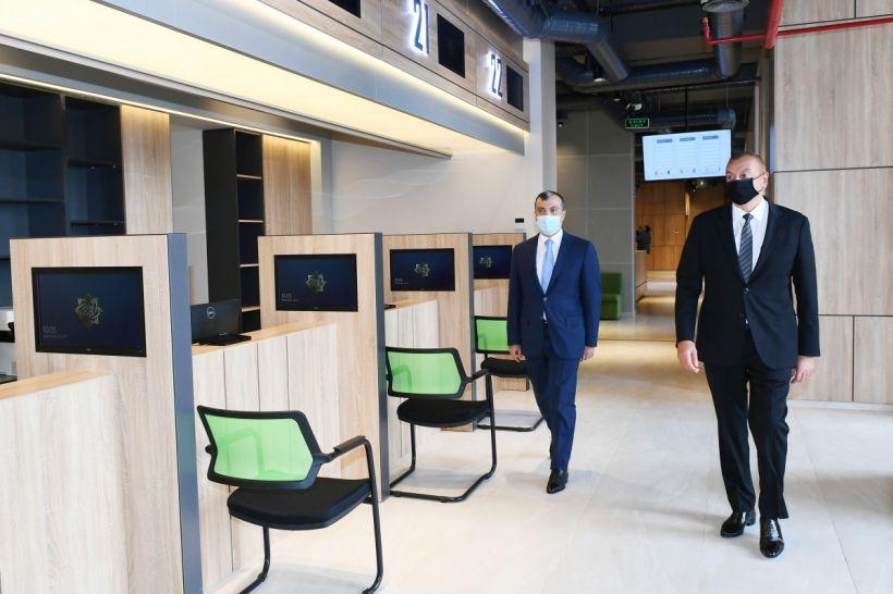 İlham Əliyev Abşeronda DOST Mərkəzinin açılışında iştirak edib