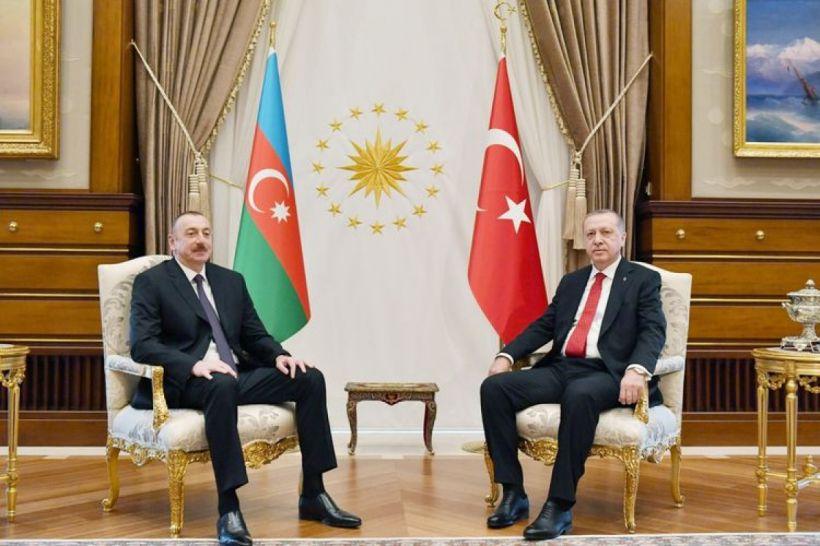 Azərbaycan Prezidenti Rəcəb Tayyib Ərdoğana telefonla zəng edib