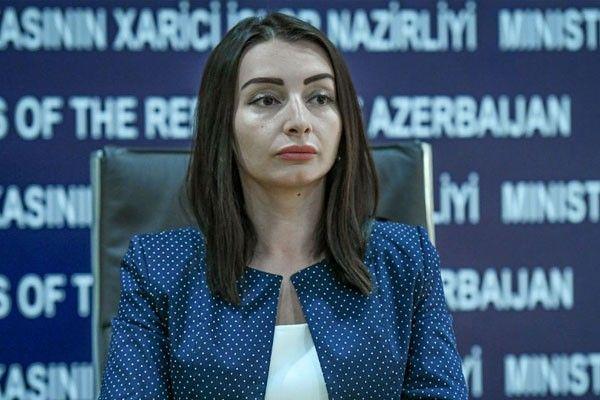 Leyla Abdullayeva:  Dövlət sərhədi boyu gərginliyin artmasına görə bütün məsuliyyəti Ermənistan daşıyır
