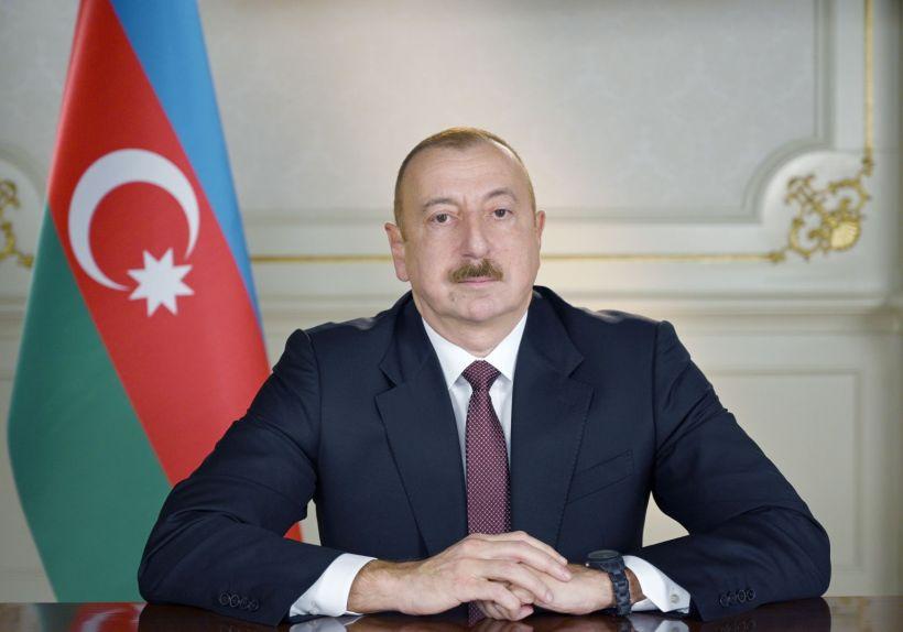 Prezident İlham Əliyev Ukrayna Prezidentini təbrik edib
