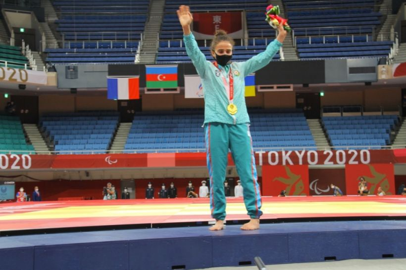 Azərbaycan  Yay Paralimpiya Oyunlarında ilk qızıl medalını qazandı