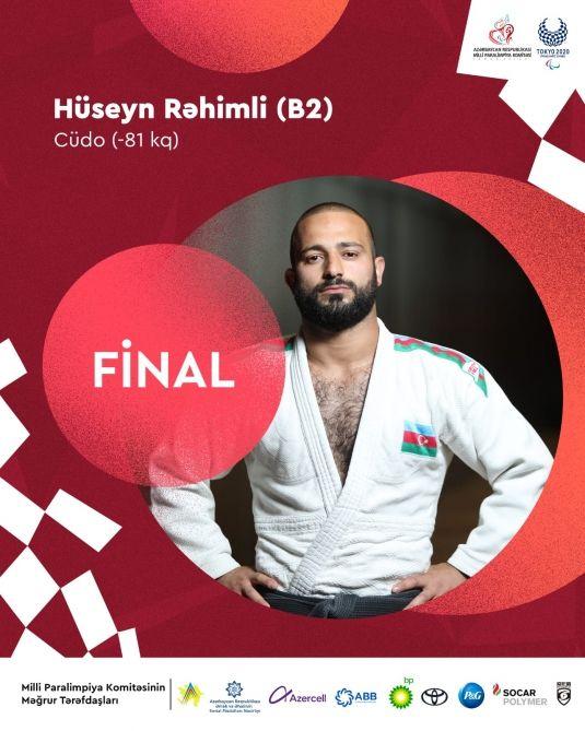 """Hüseyn Rəhimli """"Tokio-2020""""nin finalına yüksəlib"""