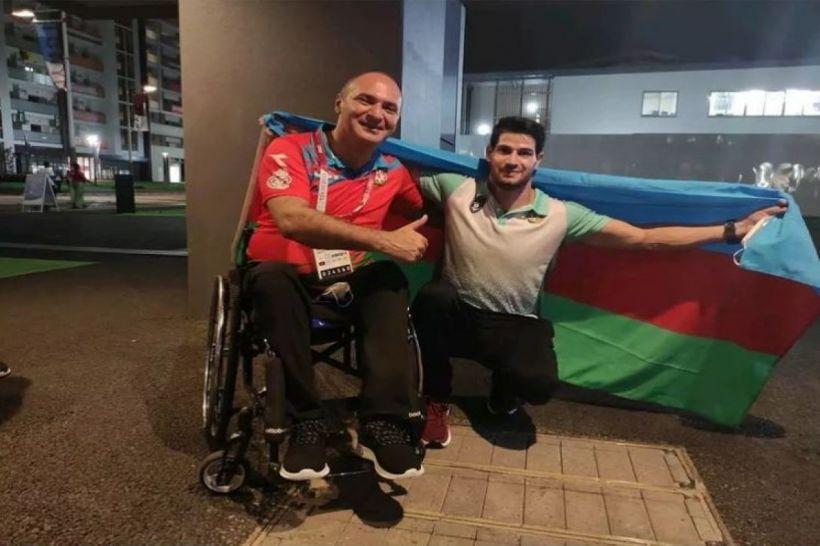 Mehriban Əliyeva Yay Paralimpiya Oyunlarında qızıl medal qazanan daha bir idmançımızı təbrik edib
