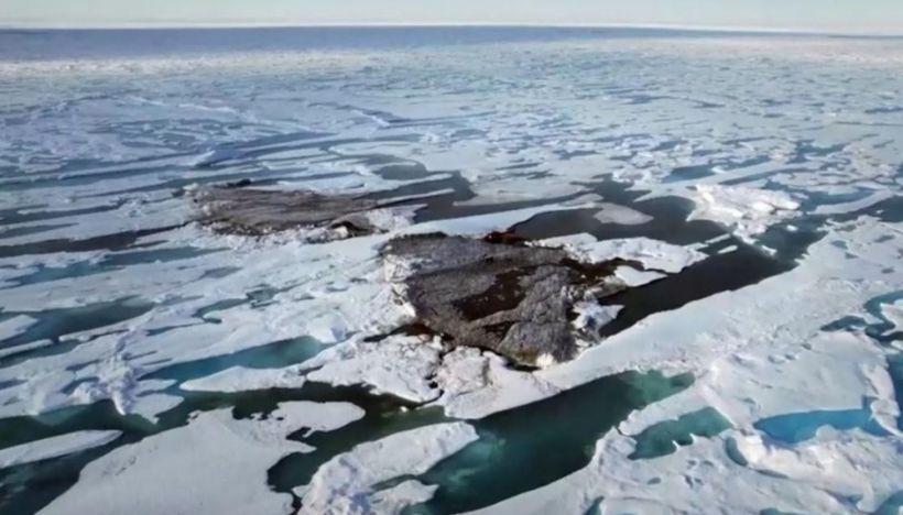 Danimarkalı alimlər yer kürəsinin şimalında yeni ada kəşf ediblər