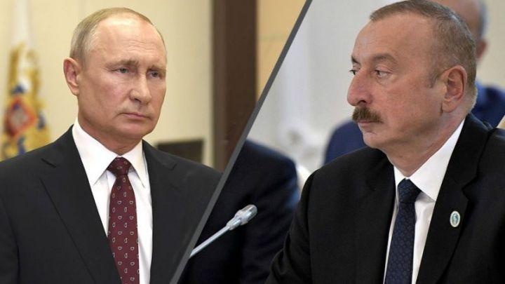 Azərbaycan Prezidenti Vladimir Putinə başsağlığı məktubu ünvanlayıb