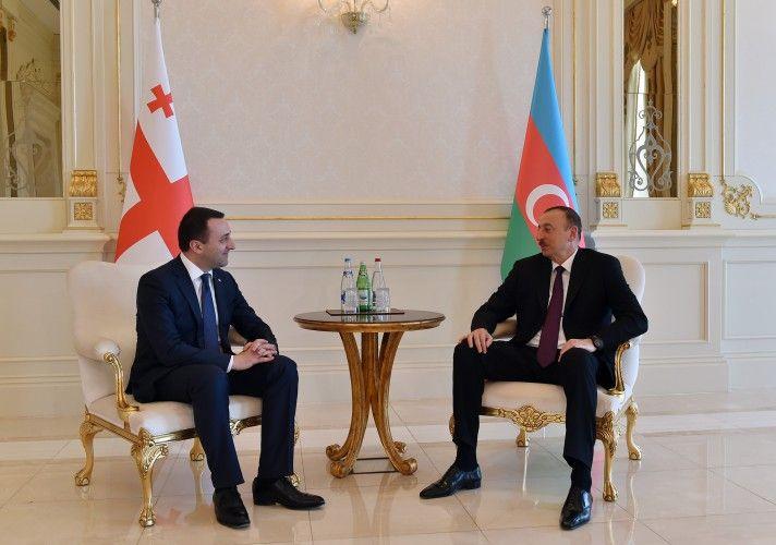 İrakli Qaribaşvili: Mənim Prezident İlham Əliyevə böyük hörmətim var