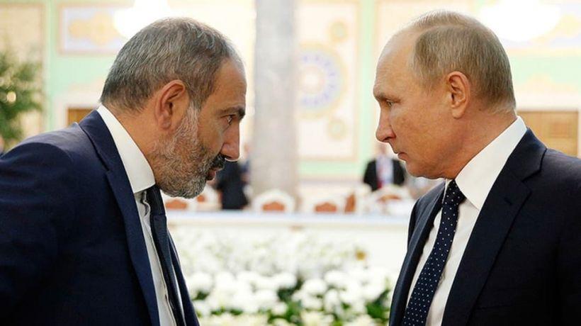 Putin Paşinyanla görüşəcək