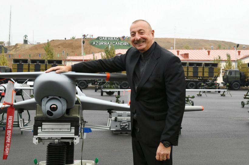 Azərbaycan Prezidenti Cəbrayılda hərbi hissə kompleksinin açılışını edib
