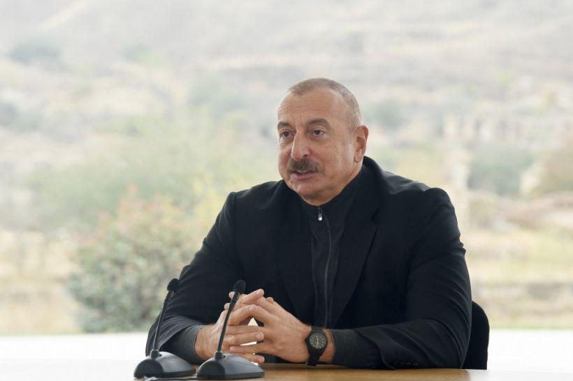 """İlham Əliyev: """"Elə bir yeni Azərbaycan, yeni Qarabağ, yeni Zəngəzur quracağıq ki, bütün dünya bizə qibtə edəcək"""""""