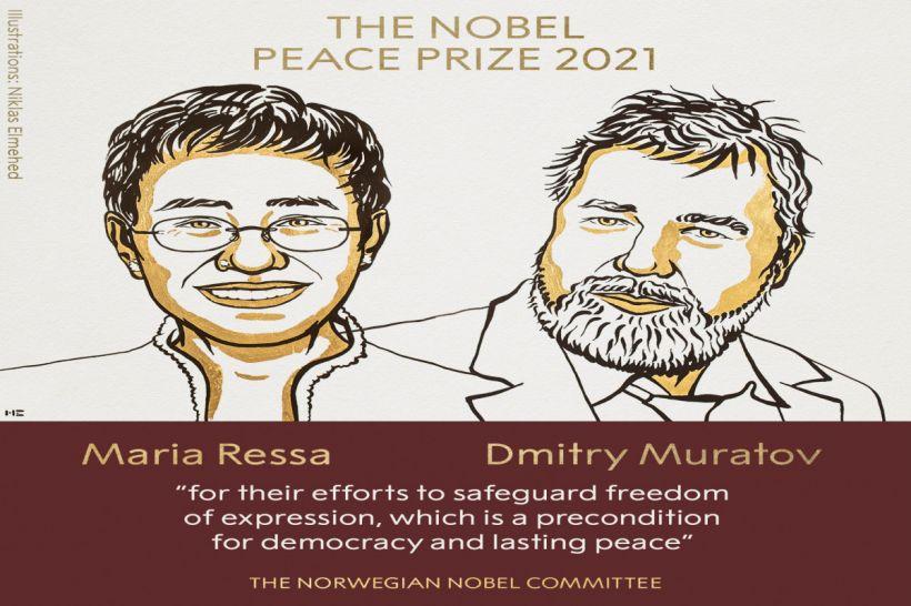 Sülh üzrə Nobel mükafatı sahiblərinin adları açıqlanıb