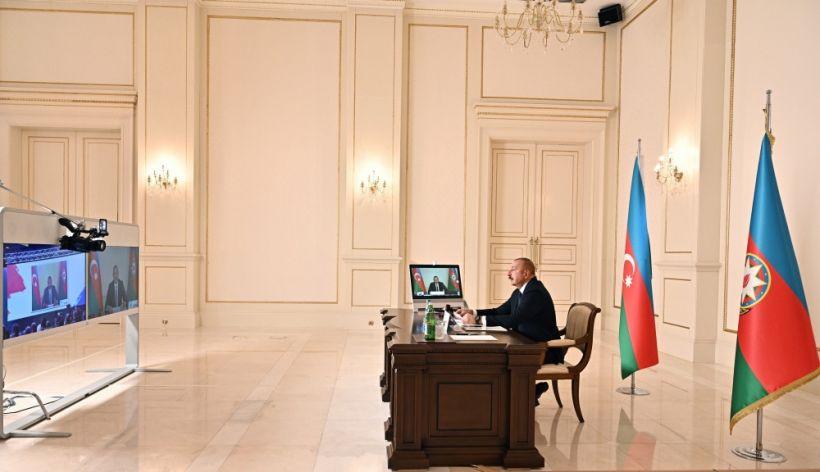 Prezident İlham Əliyev Qoşulmama Hərəkatının Yüksək Səviyyəli Toplantısında videoformatda çıxış edib