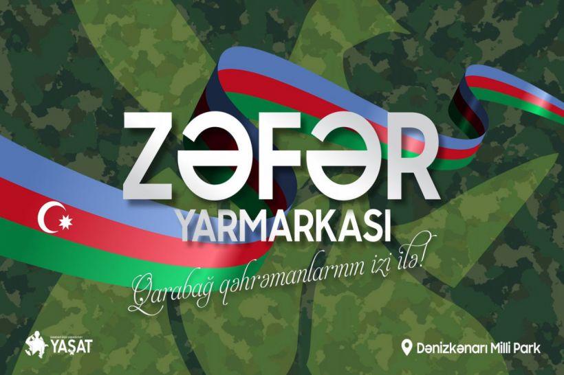 """Bakıda """"Zəfər"""" Yarmarkası keçiriləcək"""