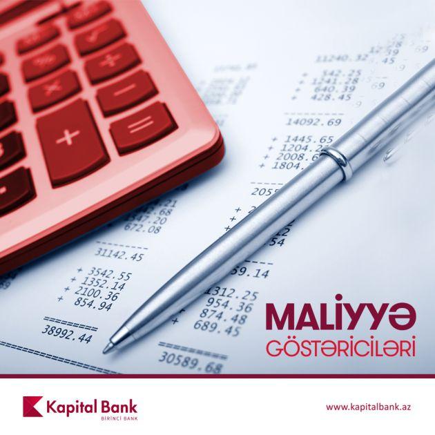 Kapital Bank ötən doqquz ayın maliyyə göstəricilərini açıqladı